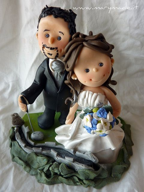 cake topper....by Mary Tempesta