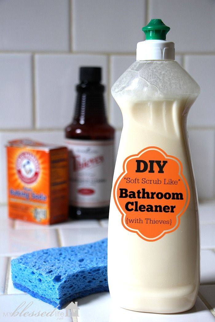 diy non toxic bathroom cleaner detox your home series oilyfamilies