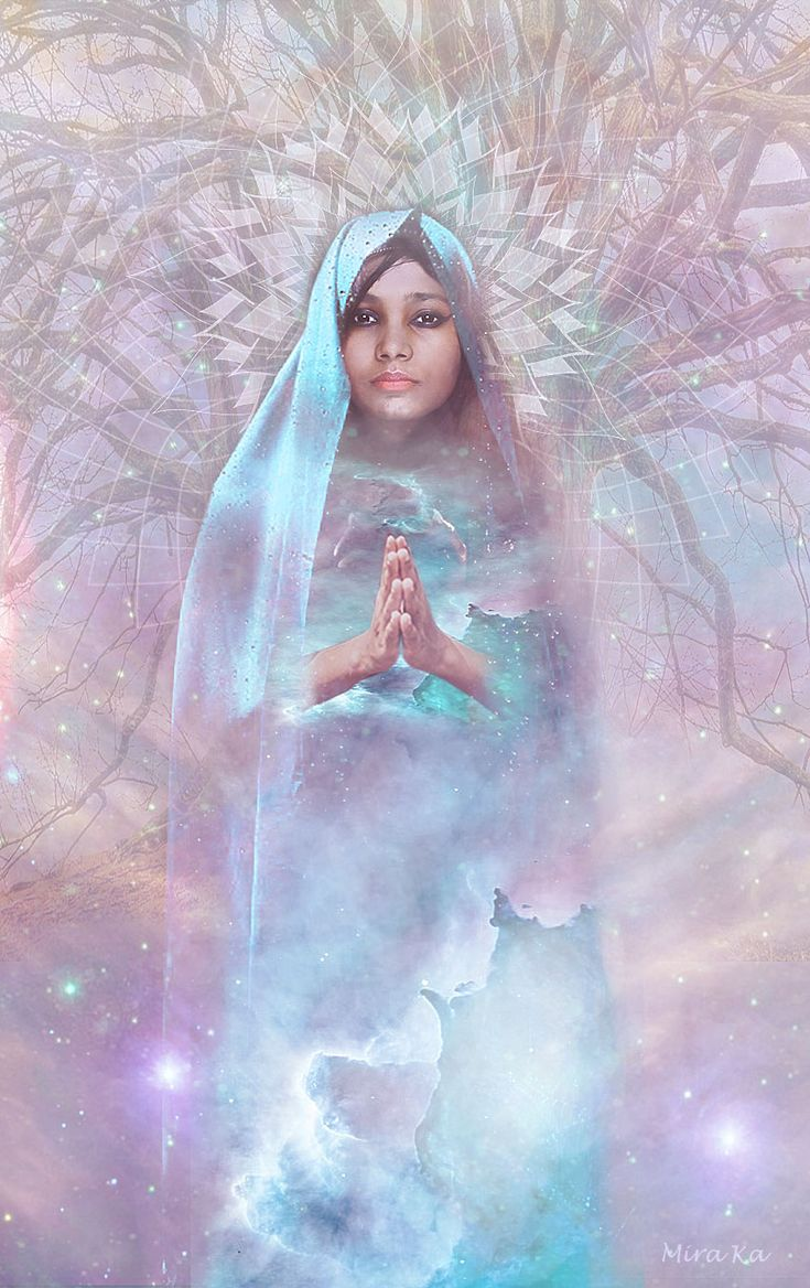 prayer of love, inspiration to create this picture is music - song with the name Prayer of love, perceived and understood not only as human love, but love to nature, spirituality, universe