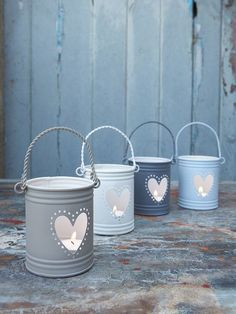 Tealight Hurricane Lanterns, cute idea for the patio/yard, the bathroom, or bedroom; anywhere really, they're so cute!