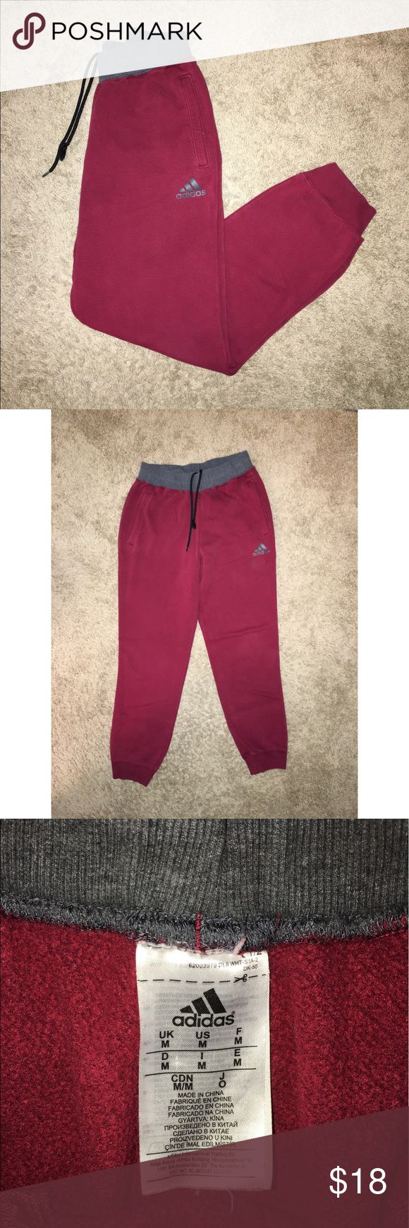 Adidas Mens Sweatpants Pockets, Drawstrings, Adidas Mens Sweatpants/Joggers. Size Medium adidas Pants Sweatpants & Joggers