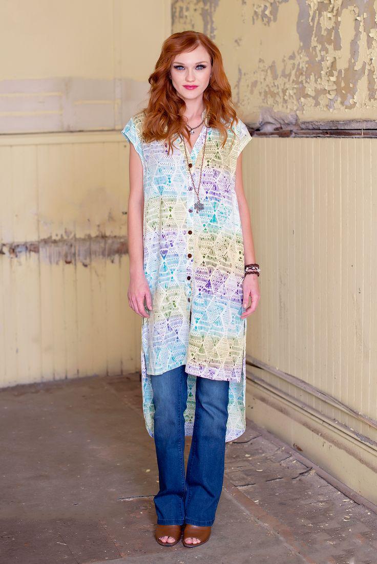 Art Major Batik Tunic – Go Fish Clothing & Jewelry Company