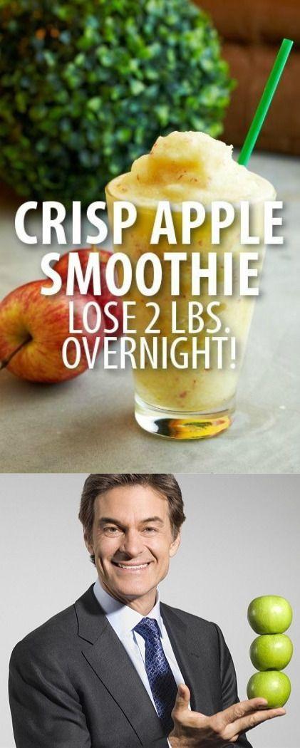 Dr Oz's Secret Recipe: Crispy Apple Smoothie + Shrink Drinks Rapid Weight Loss