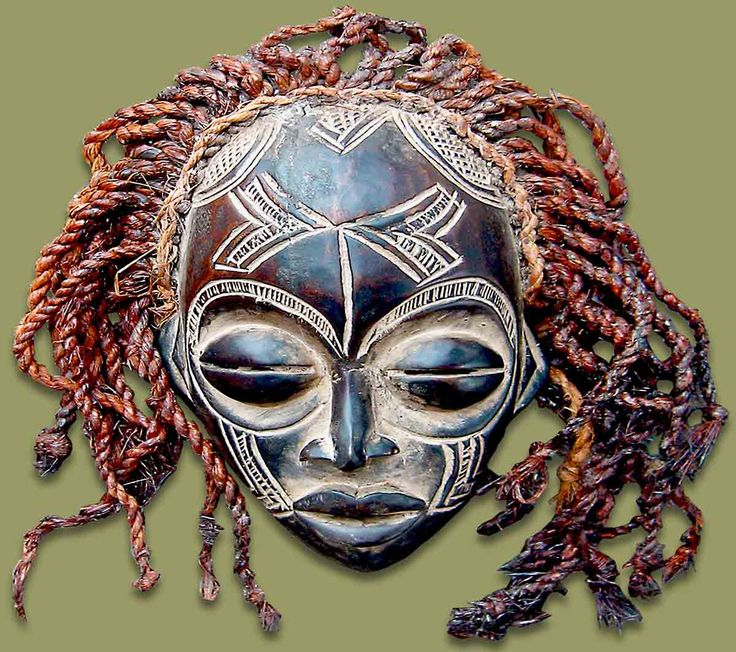 African Masks On Pinterest