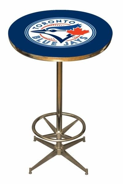Toronto Blue Jays 40in Pub Table Home/Bar Game Room