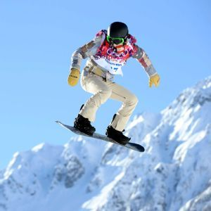 Shaun White - Even tho he didn't medal at the Olympics this year he still is the greatest snowboarder in the history of ever