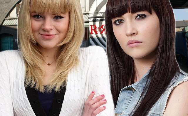 Lucy and Lauren played by Hetti Bywater and Jaqueline Jossa.