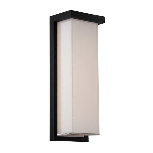 Modern Forms Ledge 2 Light Indoor/Outdoor LED Wall Sconce | AllModern