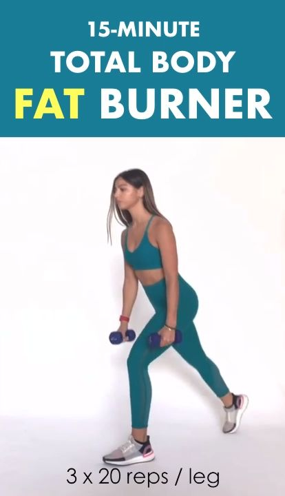 15-Minute Total Body Fat Burner Workout