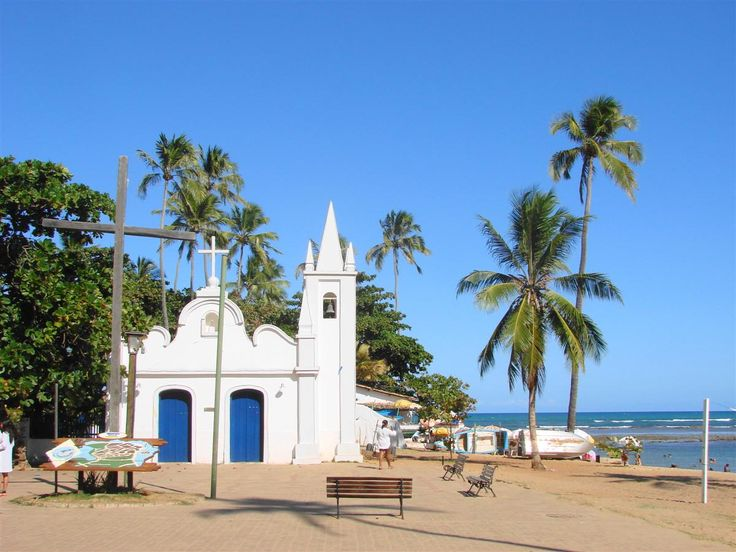 Praia do Forte...a beautiful beach in Brazil!
