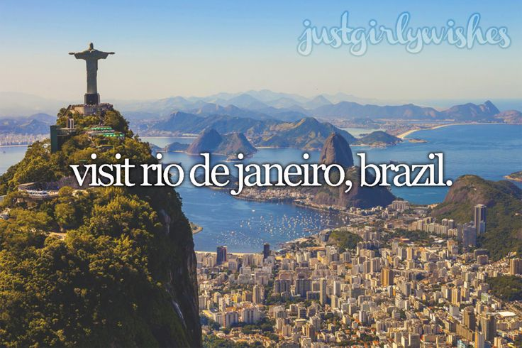 "Bucket list: Visit Rio de Janeiro, Brazil""With its plentiful beaches, dramatic mountains, and backdrop of samba and bossa nova rhythms, it's easy to fall in love with Rio de Janeiro. Made famous in song, Ipanema Beach is still the place to stroll,..."