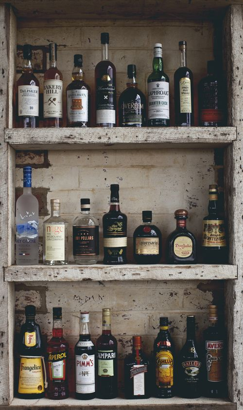 Time for a drink? #bar #rustic #liquor #meletos #cafe #yarravalley