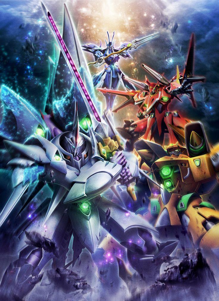 Cybuster, Cybaster, Masou Kishin, Mecha, Super Robot Taisen, SRT, SRW