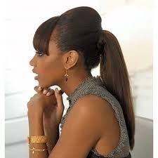Ponytail Hairstyles for Black Women 2015