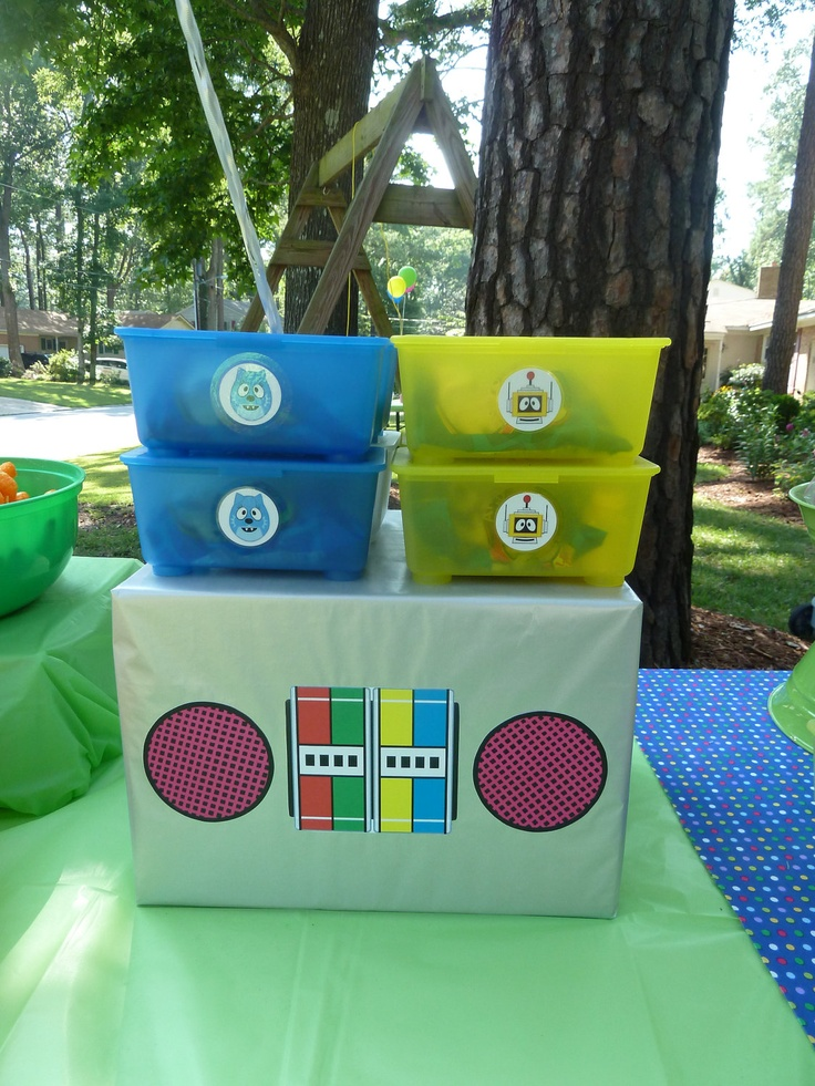 17 best images about yo gabba gabba birthday ideas on pinterest birthdays candy table and yo. Black Bedroom Furniture Sets. Home Design Ideas
