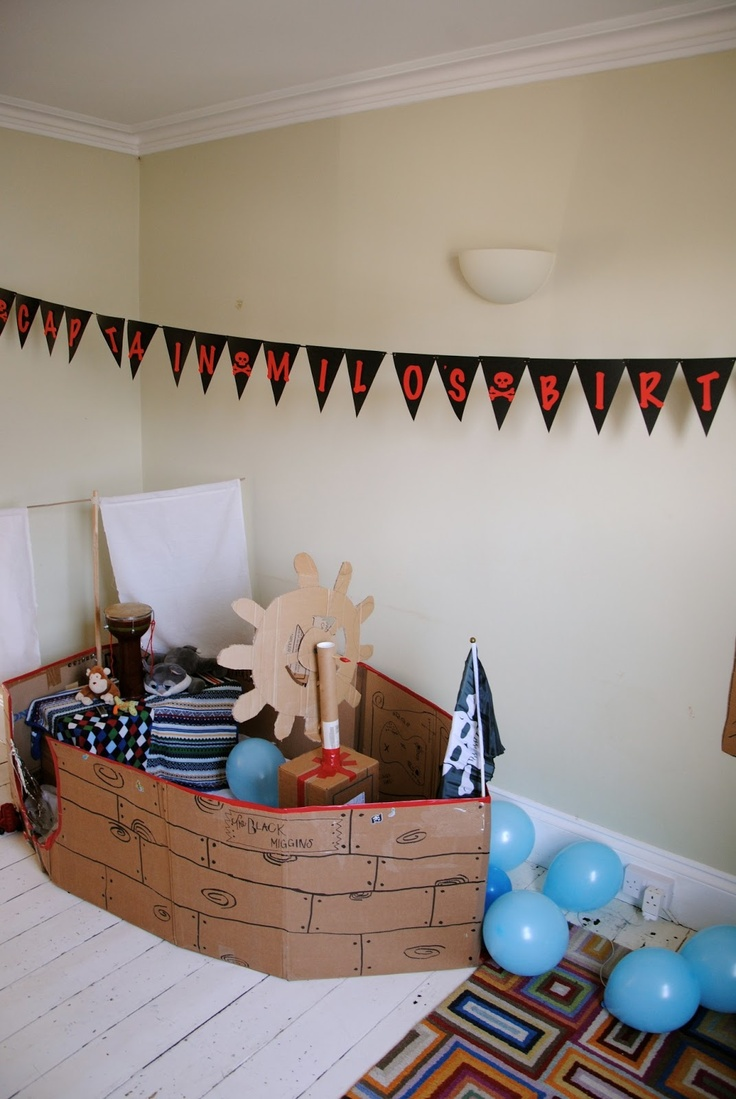 Lilley Stitches: A most piratical birthday ::