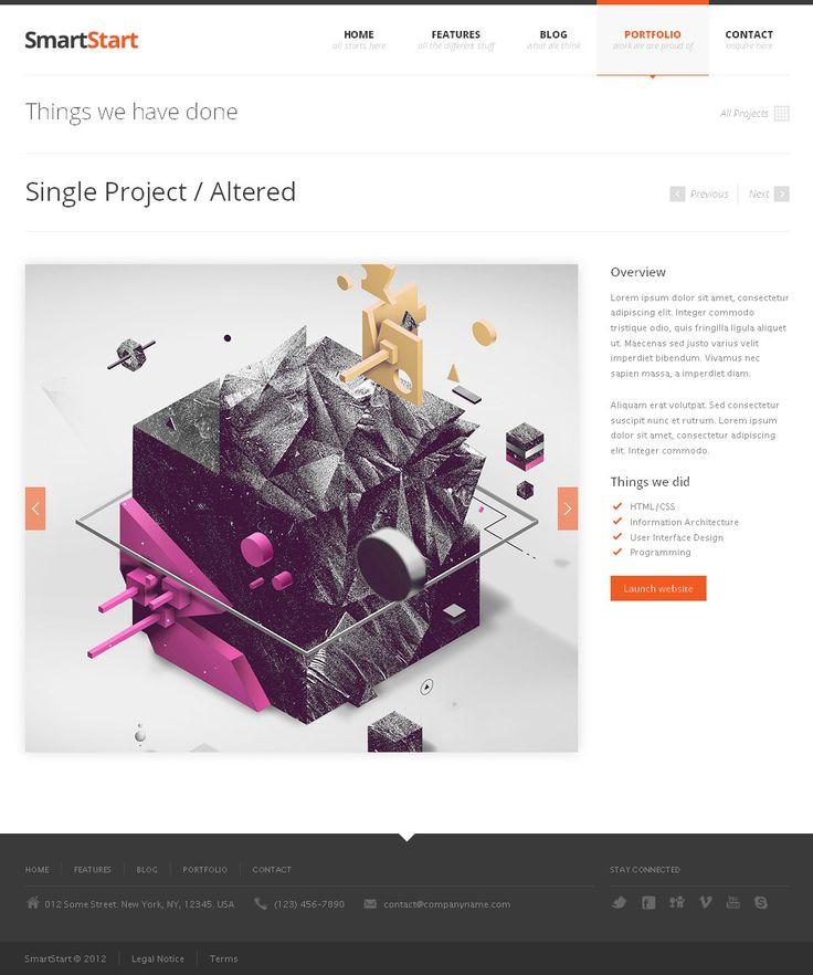 SmartStart Responsive HTML5 Template Html5 templates