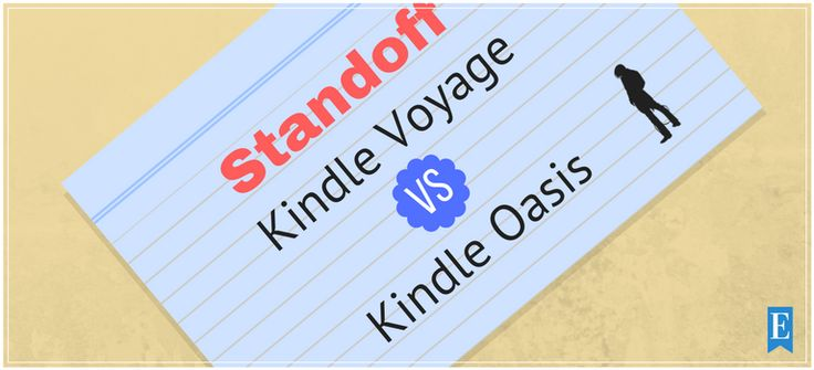 The Kindle Voyage vs Kindle Oasis Standoff determines the Kindle with the best features. You'll learn which has the best design, best price, and more.