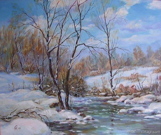 Güzel Kar Manzaraları