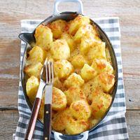 Aardappel kaasdoop uit de oven(nl rec)