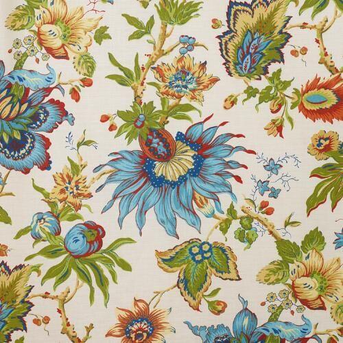 Multicolor Floral Fiesta Curtain | World Market