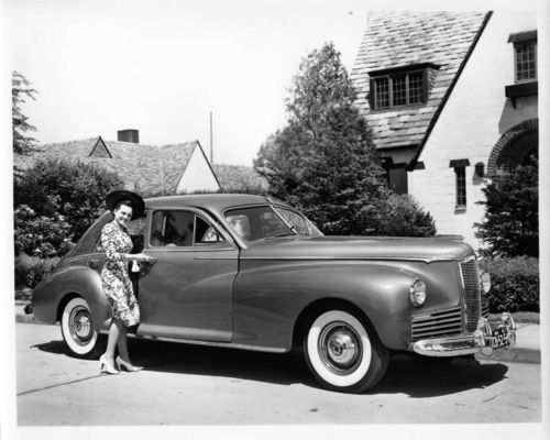 Details about 1941 Packard Clipper Factory Photo ad2300 | Lux cars ...