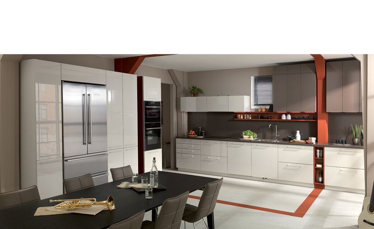 Kitchen Design - Gloss lacquer - Strass 3 - Schmidt Kitchens