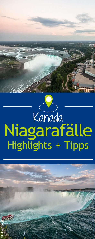 Die Highlights der Niagarafälle – Winie Kessler