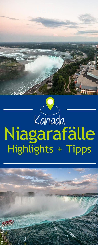 Tosende Wassermassen hautnah erleben - MERIAN zeigt Ihnen die Highlights der Niagarafälle!