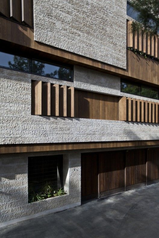 Residential building located in Isfahan/Architects: Logical Process in Architectural Design Office/ Isfahan City, Iran
