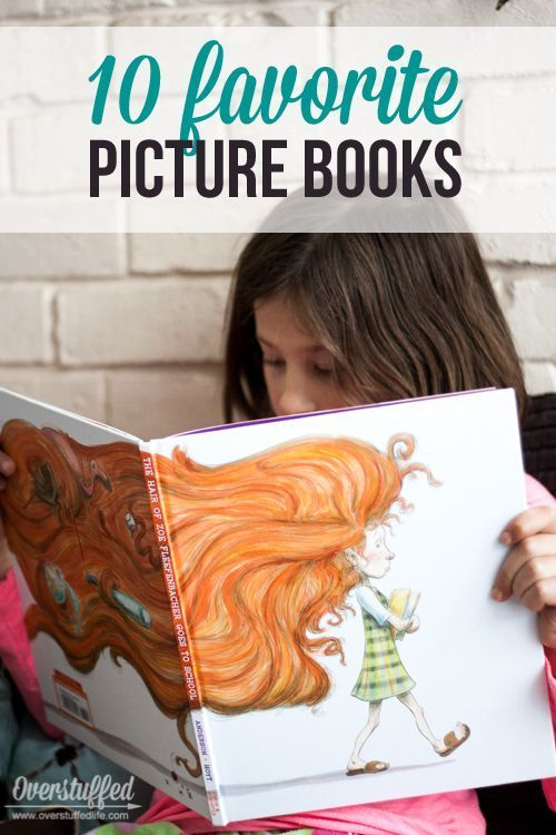 10 Picture Books you and your children will love reading together.