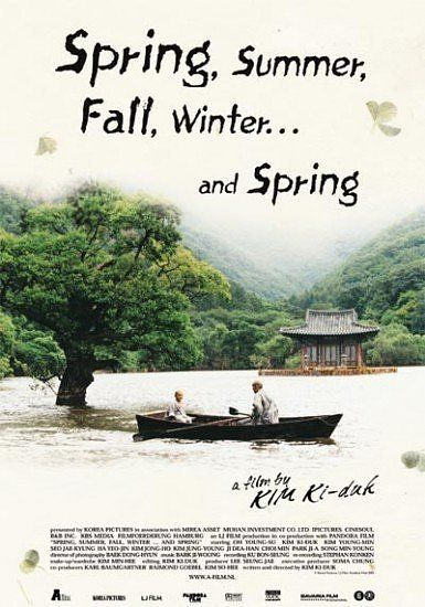 spring summer fall winter and spring. Once in a while I like to watch a film with a slower tempo. This one is gorgeous.