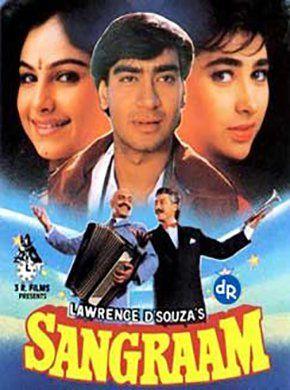 Sangram Hindi Movie Online - Ajay Devgn, Ayesha Jhulka, Karisma Kapoor, Amrish Puri, Danny Denzongpa, Reema Lagoo and Laxmikant Berde. Directed by Lawrence D'Souza. Music by Shravan Rathod. 1993 ENGLISH SUBTITLE