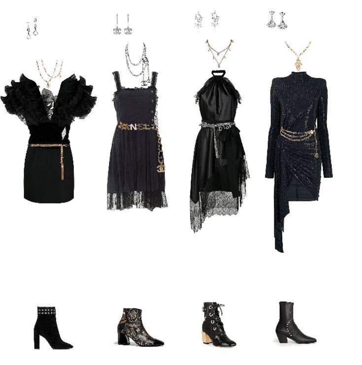 Details about  /Elizabeth Gillies Black Outfit Life Size Cutout