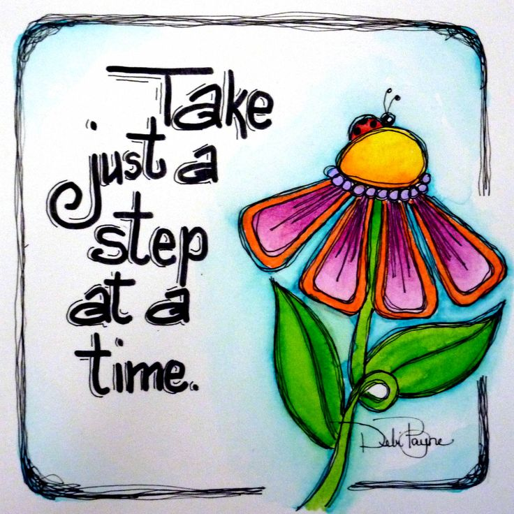 Toma solo una paso......