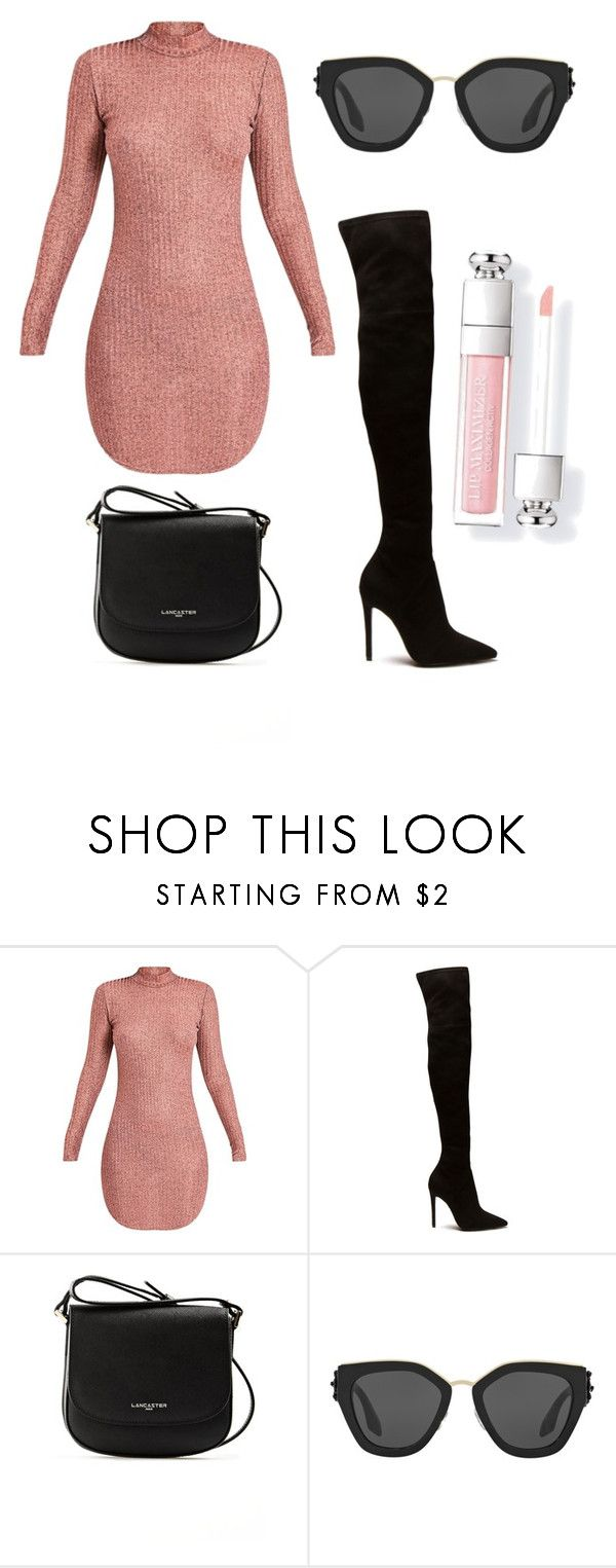 """Soft pink"" by tovenilsen on Polyvore featuring Lancaster and Prada"