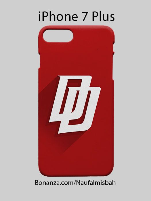 Daredevil Logo iPhone 7 PLUS Case Cover Wrap Around