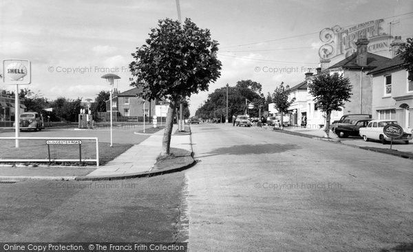 Burgess Hill, London Road c.1960, from Francis Frith