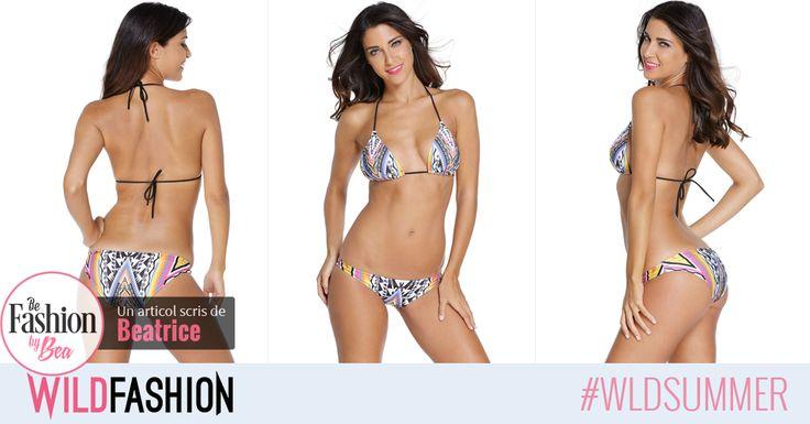 👙Pentru cele mai trendy aparitii la plaja, poarta un costum de baie cu un design chic, ca acesta: