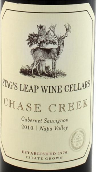 2010 Stag's Leap Wine Cellars Cabernet Sauvignon Chase Creek