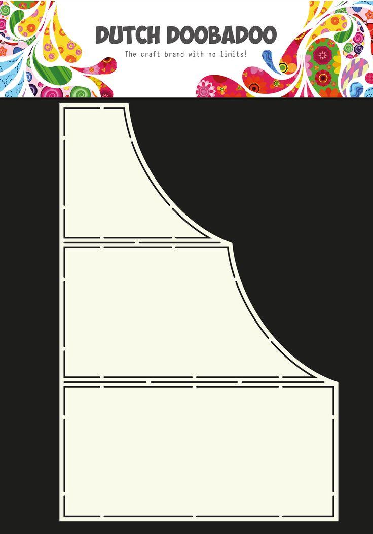 470.713.625 Dutch Doobadoo Fold Card Art