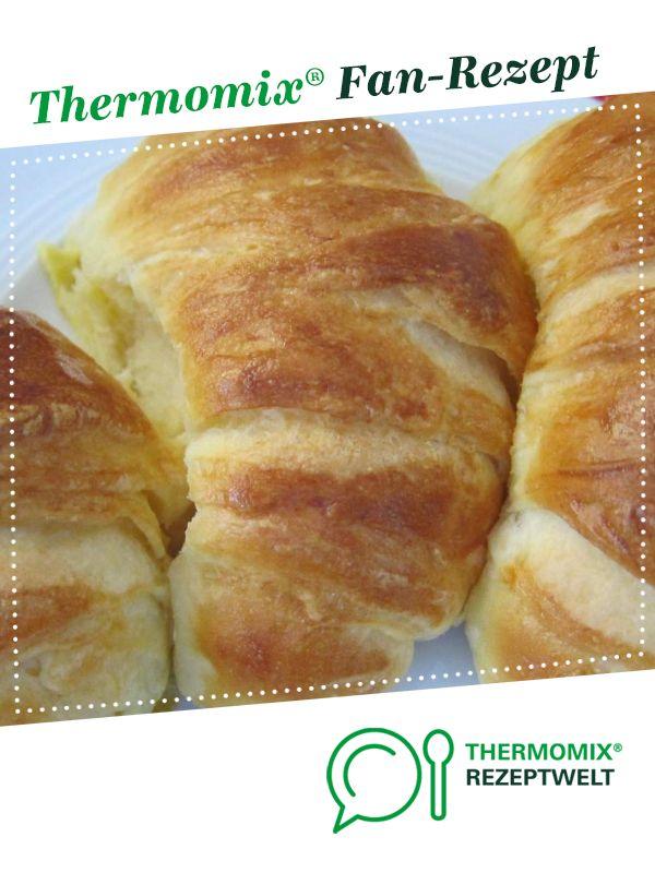 Knusprige Hefecroissants (aus Slava) von pmailaender. Ein Thermomix ® Rezept auf dem …   – Thermomix-Rezepte