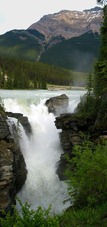 Athabasca Falls ~ Jasper National Park, Alberta, Canada