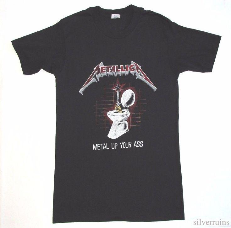 Camisetas vintage 80 s concierto