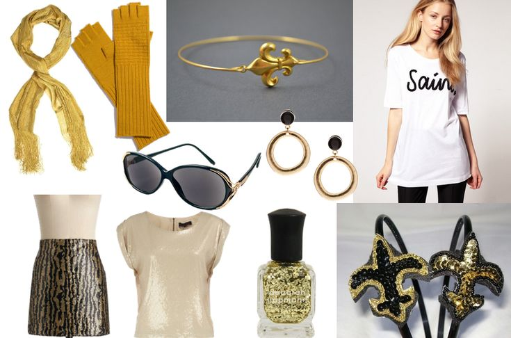 New Orleans Saints Fashion for the Fashionista