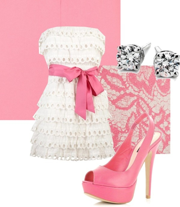 Pretty in Pink, created by mollykate96 on Polyvore
