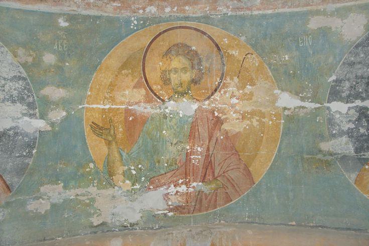 Музей фресок Дионисия - Купол, барабан и паруса - Праотец Авель