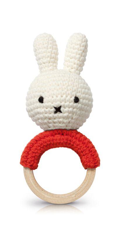 Rammelaar Bijtring Nijntje Rood Haken Pinterest Crochet