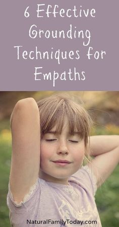 6 Effective Grounding Techniques for Empaths - these diy grounding techniques are easy to accomplish for any empath. From stones to water, meditation, and more.