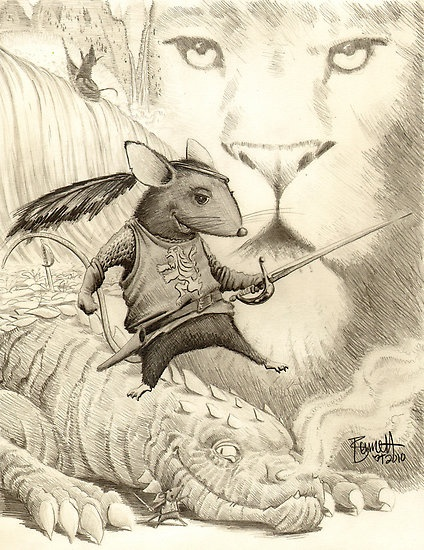 narnia coloring pages reepicheep quotes - photo#24